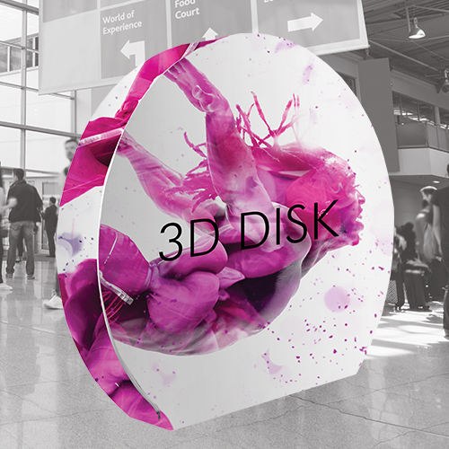 new 3d disk display