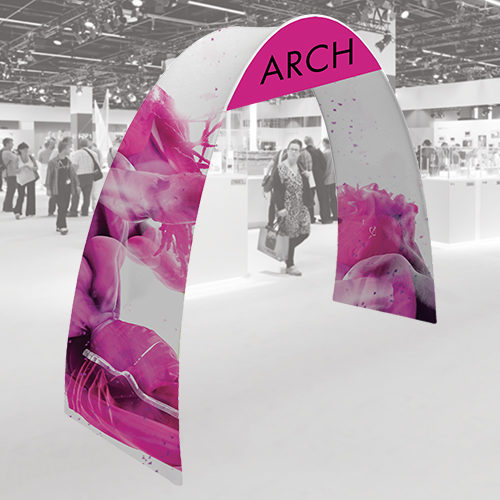 arch fabric display