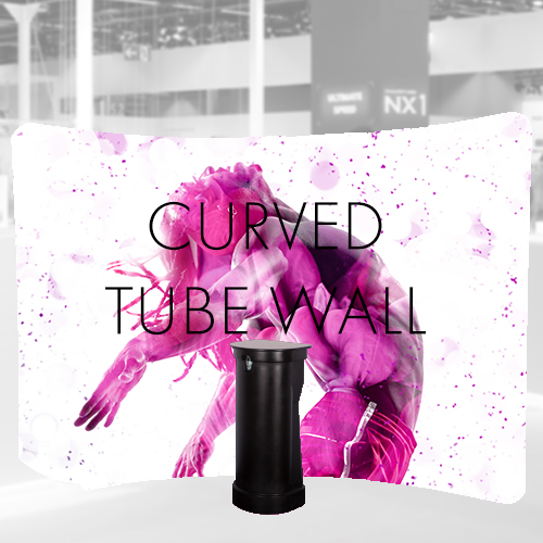 Curved fabric Tube Wall