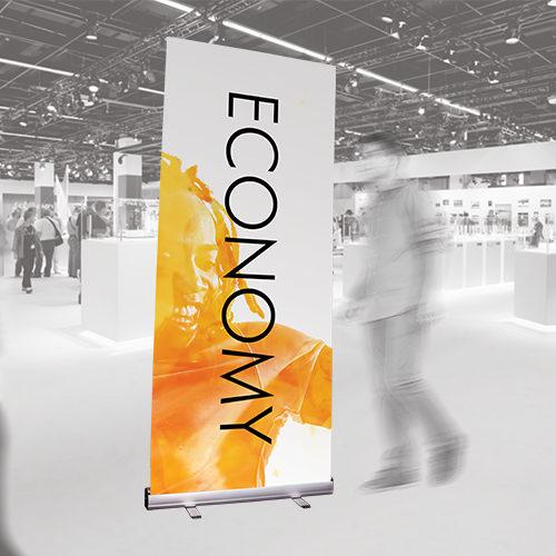 Economy Roller Banner