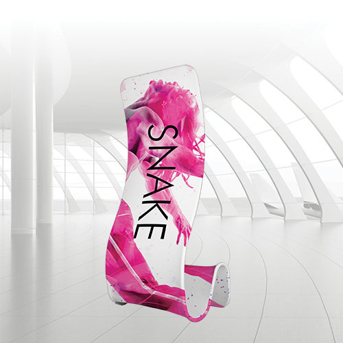 snake portable display solution for retail environments