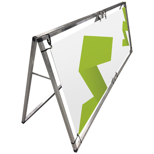 Outdoor A Banner Frame