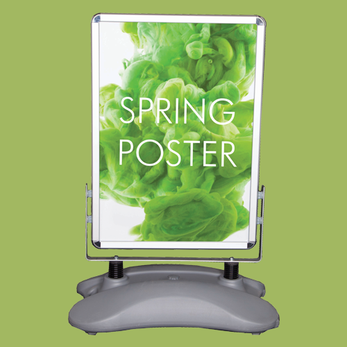 20 Ways To Spiff Up Your Backyard For Spring: Outdoor Spring Poster Frame
