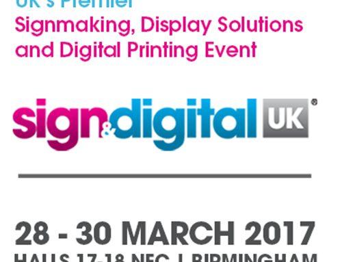 Sign & Digital Birmingham 2017, stand D45