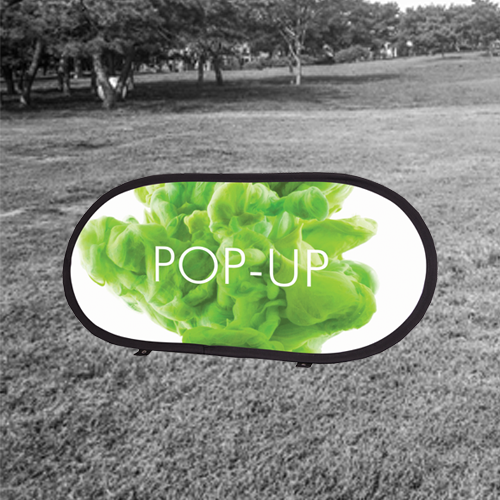 outdoor pop up banner for marketing displays