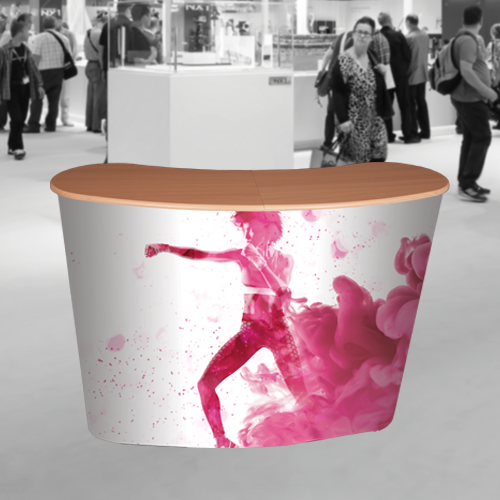 magnetic pop up Counter to meet and greet your customers