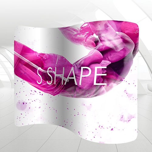 s shape display solution