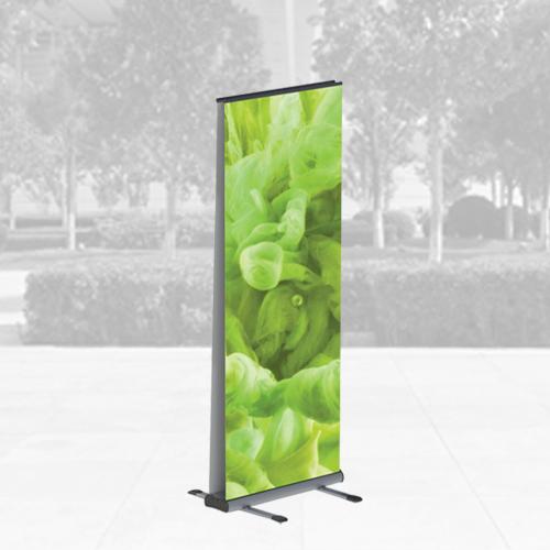outdoor roller banner