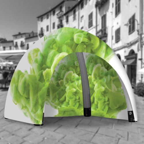 inflatable air tent for promotional purposes