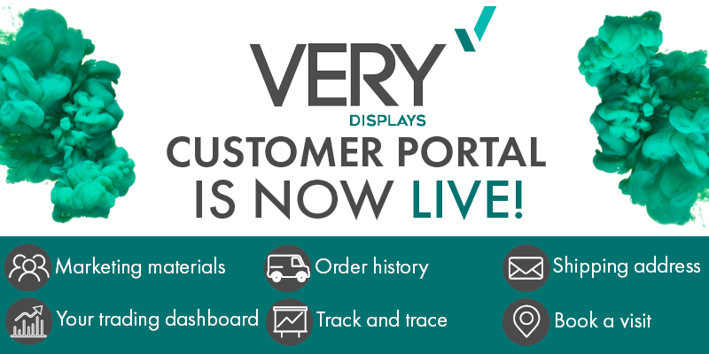 VERY DISPLAYS CUSTOMER PORTAL