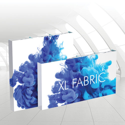 xl fabric pop up for exhibitions
