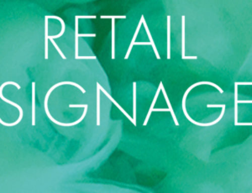 Can retail signage help to draw in more customers during difficult trading periods?