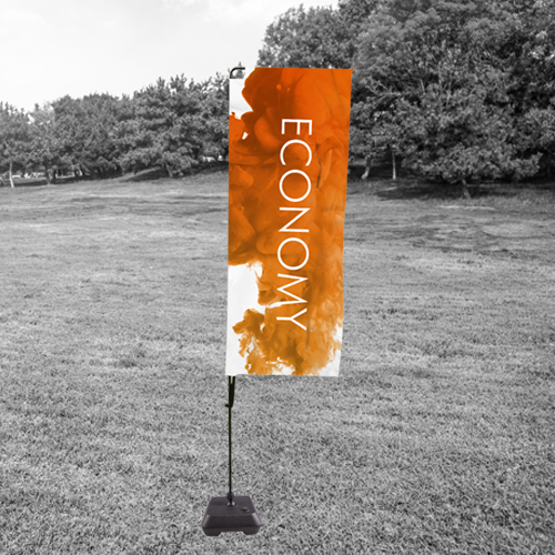 economy flag for promotional purposes