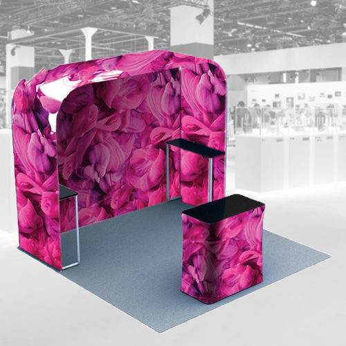 sales pods for branded event space