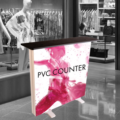 PVC Lightbox Counter for events