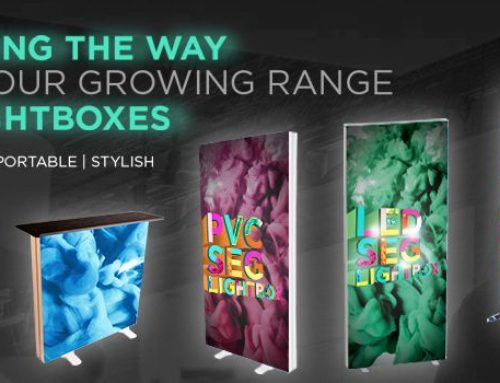 Lighting the way with our growing range of light boxes