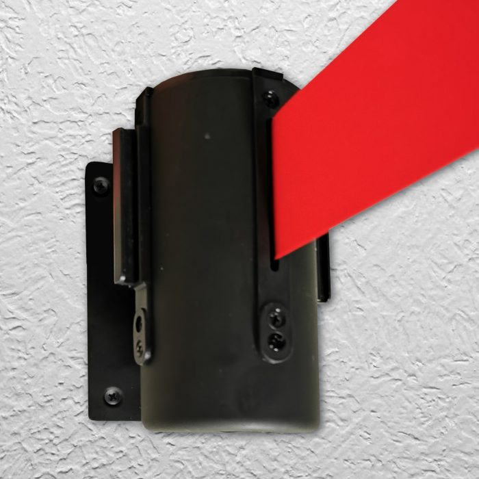 retractable wall belt for crowd management